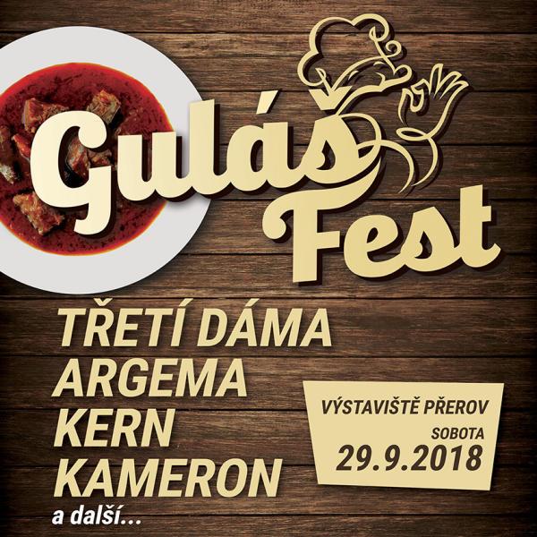 Gulášfest Přerov 2018