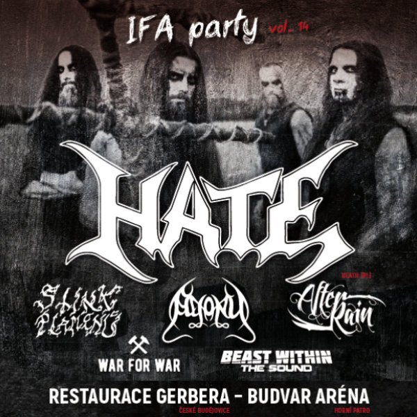 IFA party vol. 14 - headliner HATE (PL)