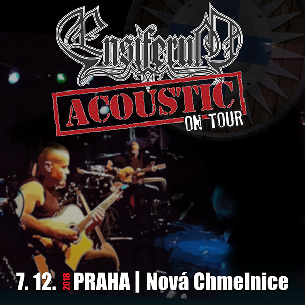 ENSIFERUM (FI) - ACOUSTIC TOUR 2018