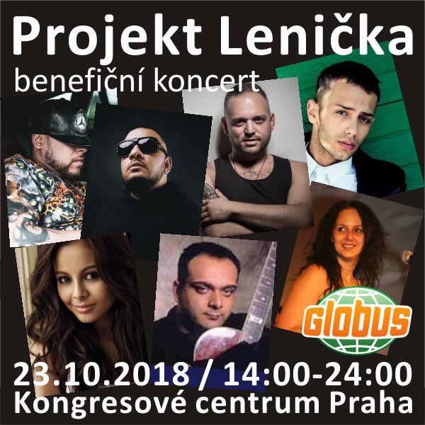 PROJEKT LENIČKA, benefiční koncert