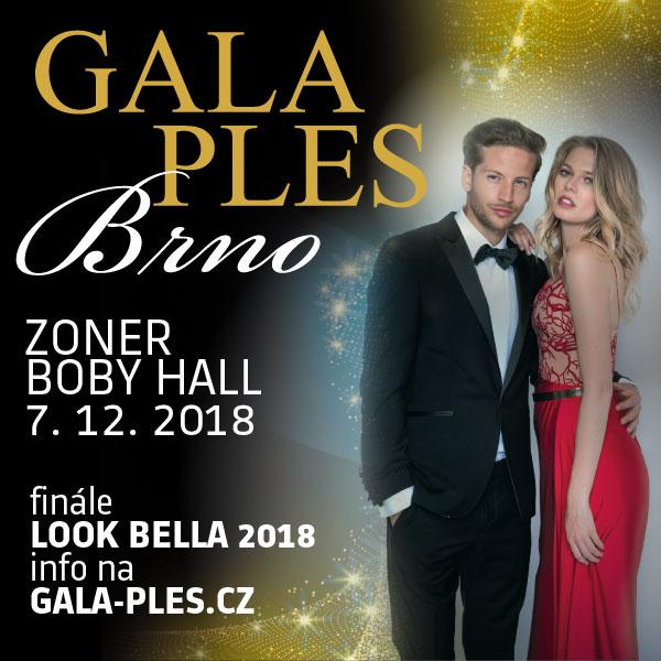 Gala Ples Brno 2018 a finále Miss & Mr. Look Bella