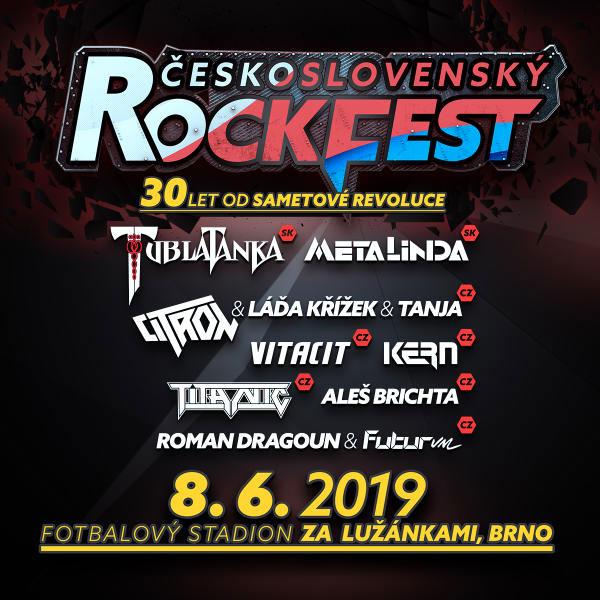 ČESKOSLOVENSKÝ Rockfest 2019