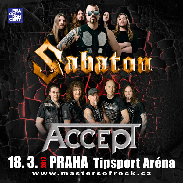 SABATON (Swe): The Last Tour 2017 w/ ACCEPT (Ger)