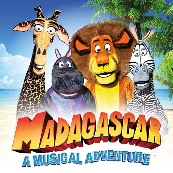 MADAGASKAR - MUZIKÁLOVÉ DOBRODRUŽSTVÍ