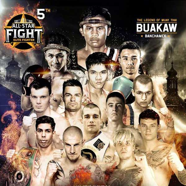 All star fight in Prague 2018!