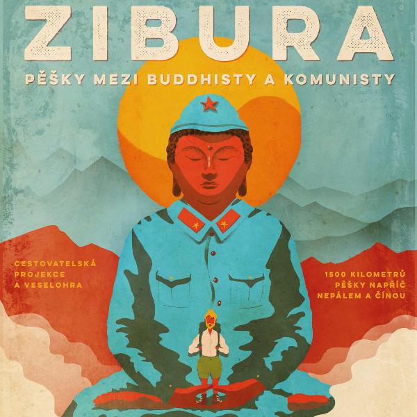 L. Zibura - Pěšky mezi buddhisty a komunisty