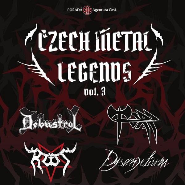 Czech Metal Legends vol. 3