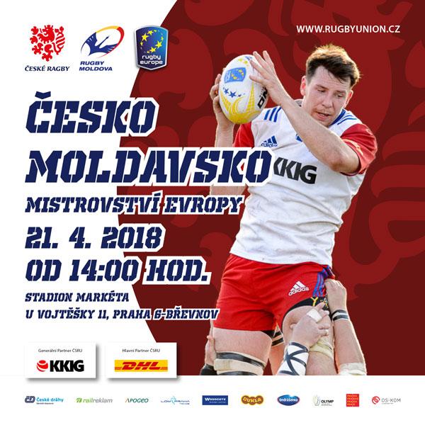 ME vragby: Česká republika vs. Moldavsko