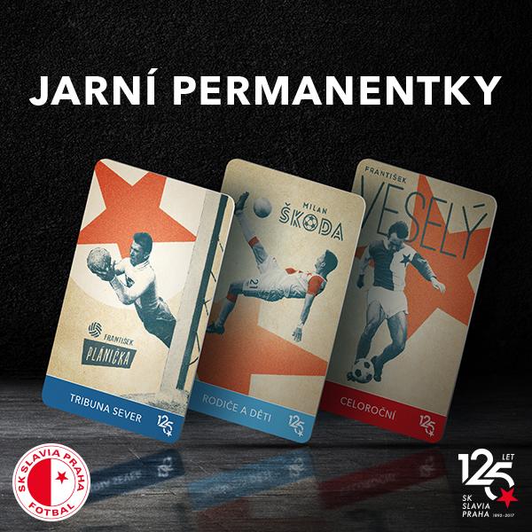 SK Slavia Praha - permanentky 2017/2018