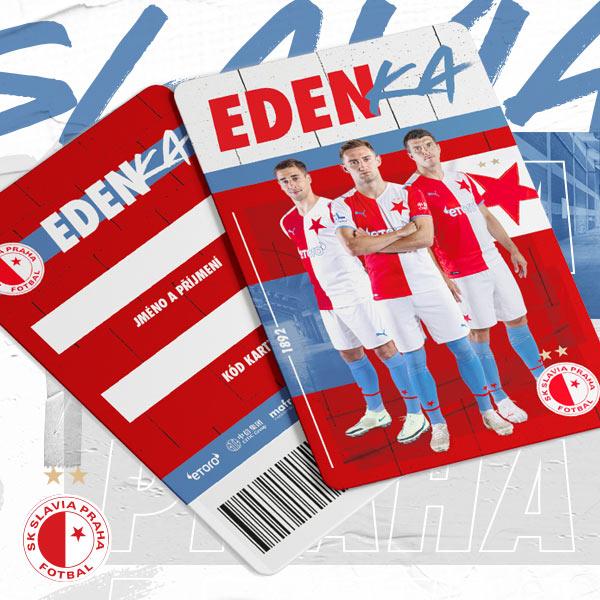 SK Slavia Praha - Karta EDENKA