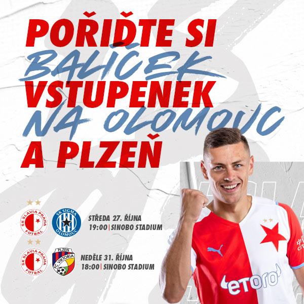 SK Slavia Praha - Zvýhodněný balíček