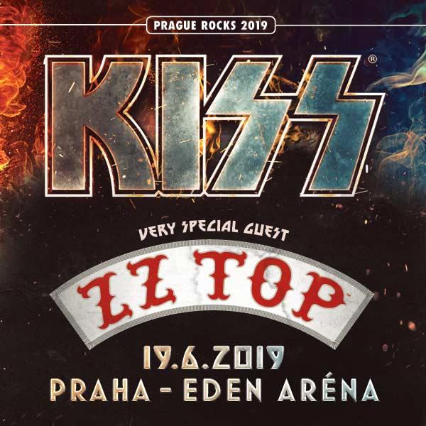 PRAGUE ROCKS 2019/ KISS - ZZ TOP