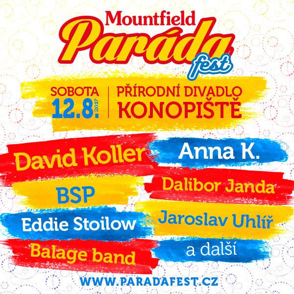 Mountfield Paráda fest
