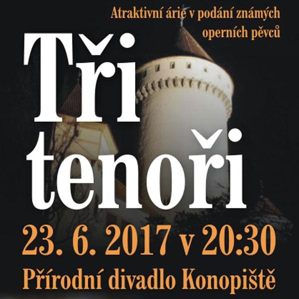 TŘI TENOŘI - KONOPIŠTĚ