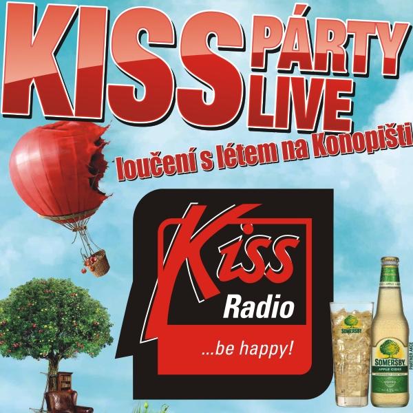 KISSPÁRTY LIVE 2017 - loučení s létem na Konopišti