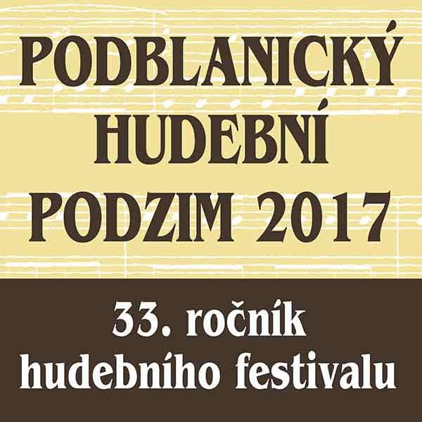 Podblanický hudební podzim 2017-Zahajovací koncert