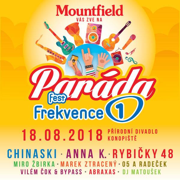 PARÁDA Fest Frekvence 1