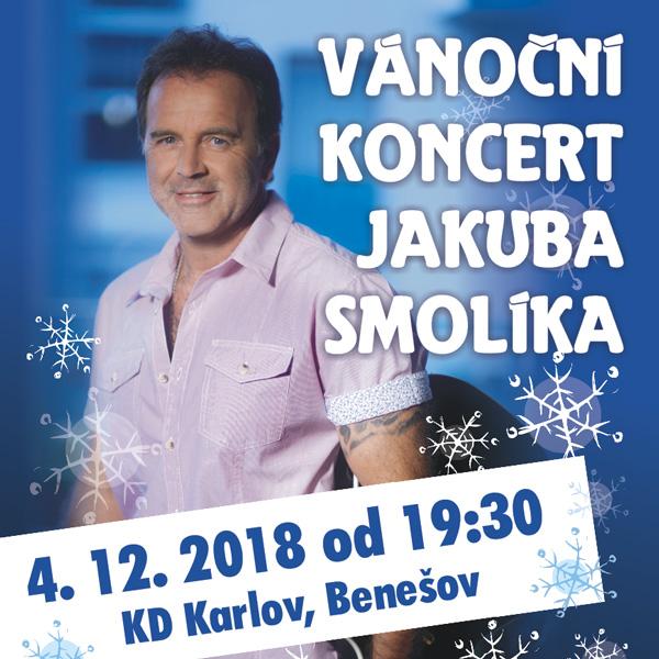 Vánoční koncert Jakuba Smolíka, Benešov