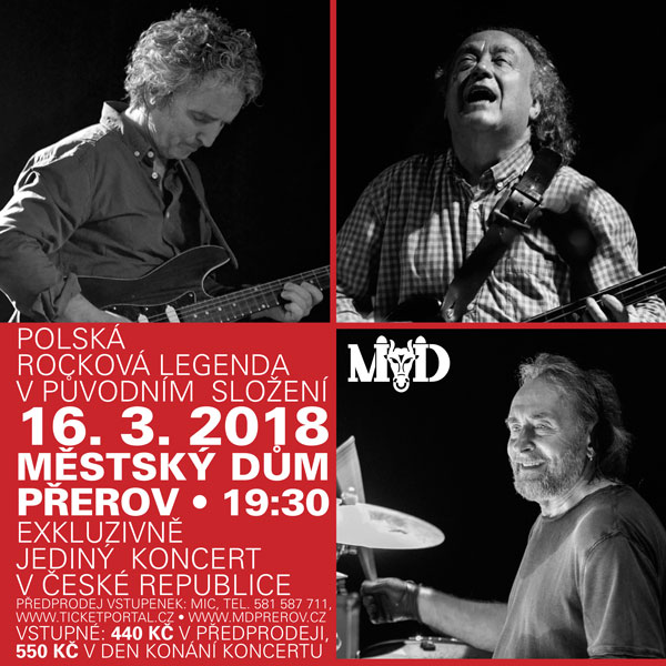 Koncert polské rockové legendy SBB