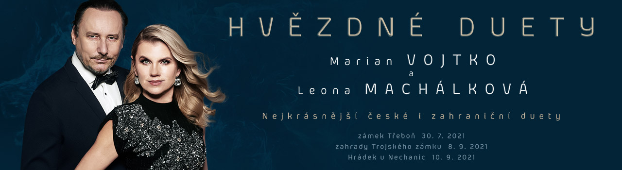 LEONA MACHÁLKOVÁ A MARIAN VOJT